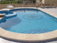 Private Villa with pool and central heating (3)